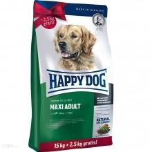 ADULT MAXI HAPPY DOG Fit Well 15 kg  + 2,5 kg Gratis !